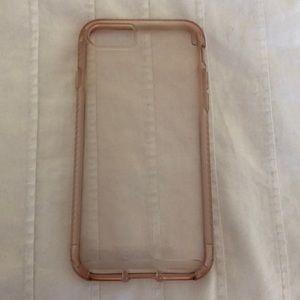 Clear Tech21 iPhone 8 case